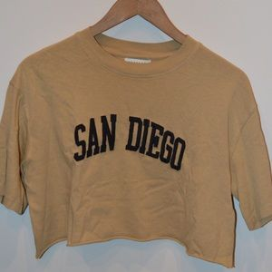San Diego Crop Top from TOPSHOP